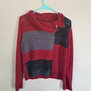 Vintage cowl neck sweater